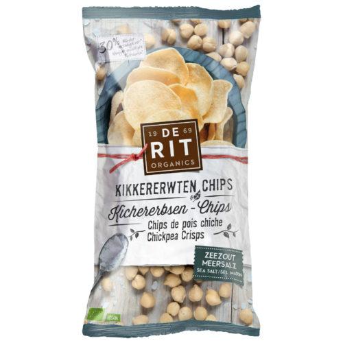 Chips de pois chiche sel marin