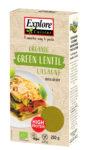 Lasagne aux lentilles vertes bio