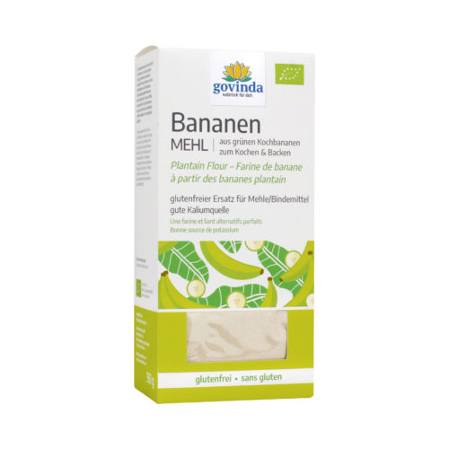 farine de banane verte bio