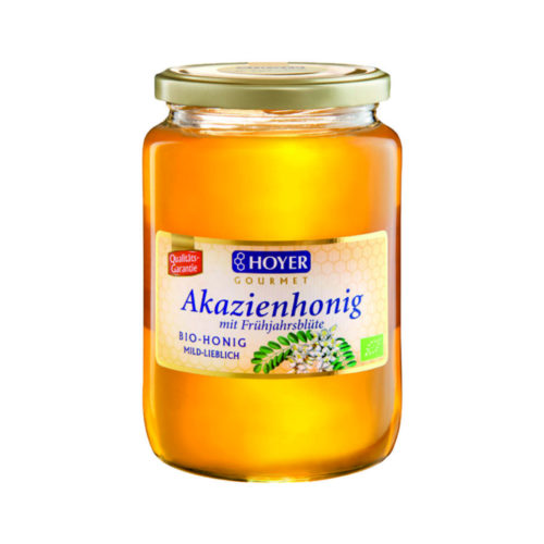 Miel d'acacia de printemps bio