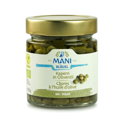 Câpres à l'huile d'olive bio