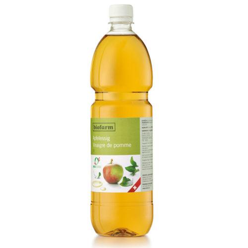 Vinaigre de pomme bio, bourgeon CH, PET