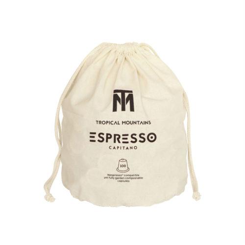 Capsules de café Capitano espresso bio
