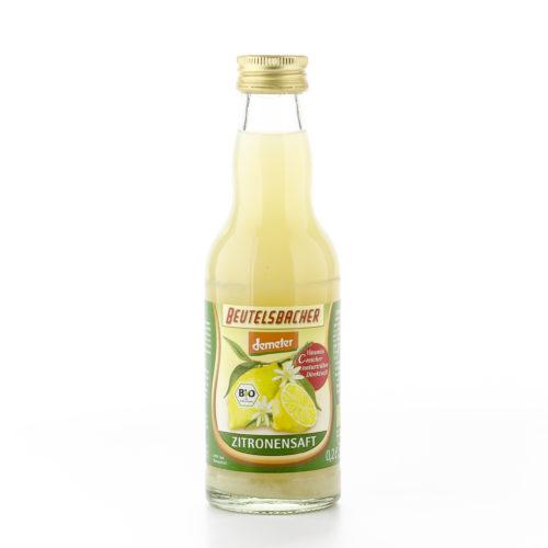 Jus de citron bio