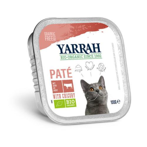 Pâté bio bœuf avec chicorée pour chat