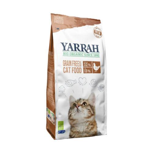 Croquettes bio poulet & poisson sans céréales pour chat
