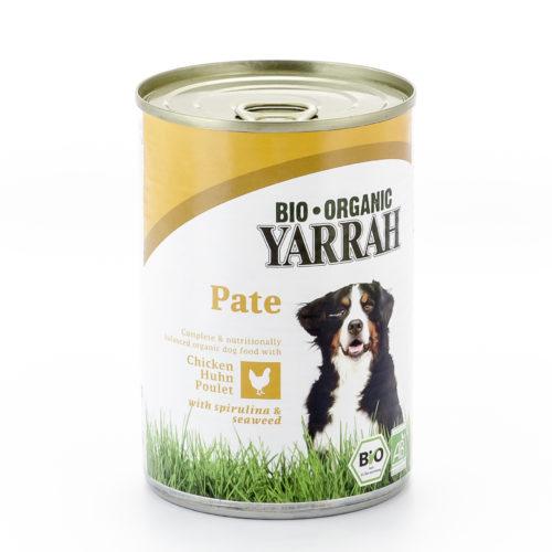 Pâté bio poulet avec spiruline & algues marines pour chien