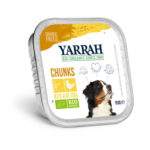 Bouchées bio de poulet et aloe vera pour chien