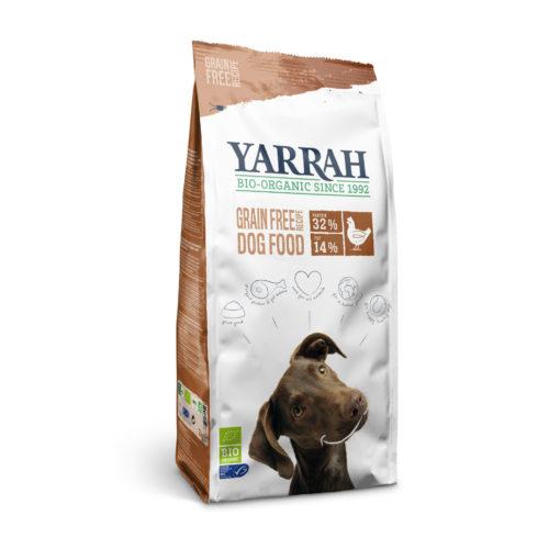 Croquettes bio poulet & poisson sans céréales pour chien