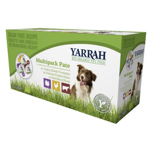 Pâtés pour chiens multi-pack