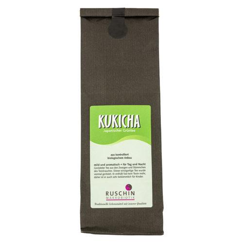 Thé vert japonais Kukicha bio