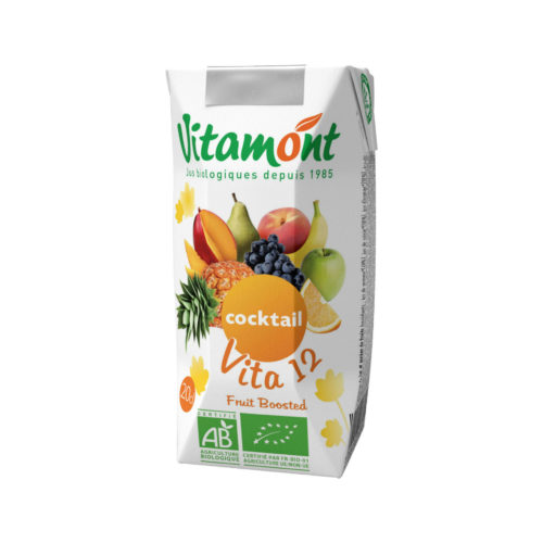 Cocktail vita 12 pur jus de fruit bio