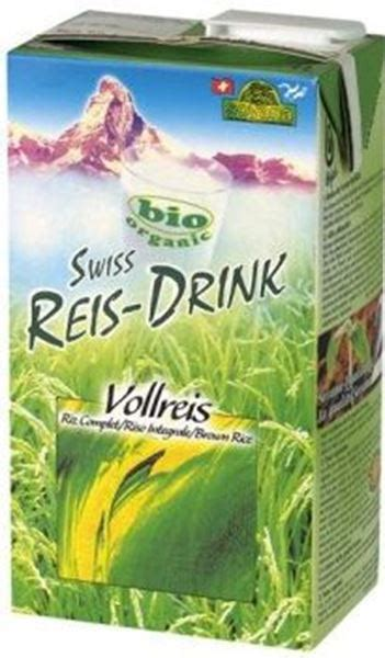 Swiss Rice-Drink Riz complet bio