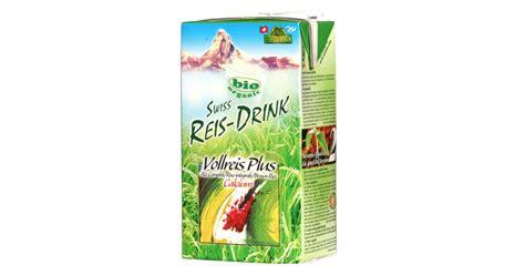 Swiss Rice-Drink riz complet Plus calcium bio
