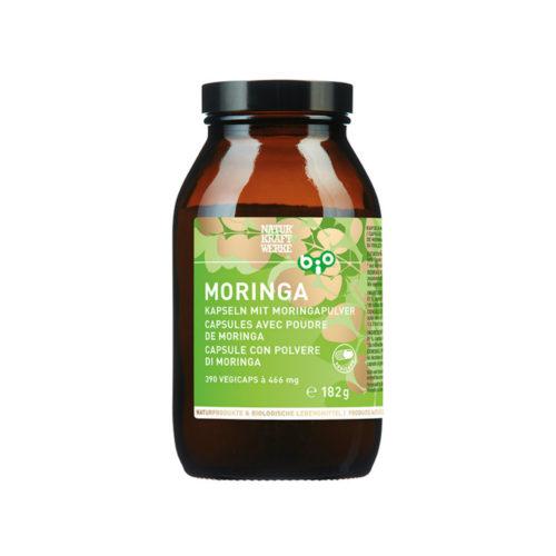 Moringa – Capsules de poudre de Moringa bio