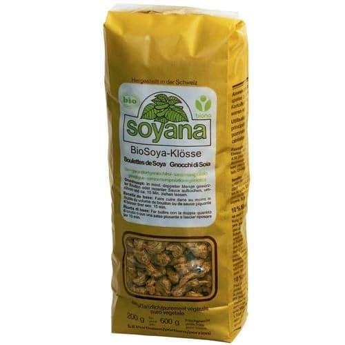 Protéine de soya, boulettes naturelles bio