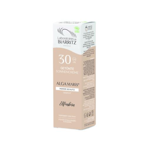 Crème solaire Visage teintée ivoire SPF 30