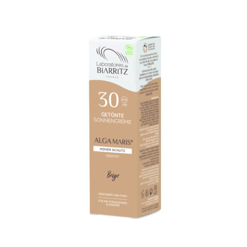 Crème solaire Visage teintée claire SPF30