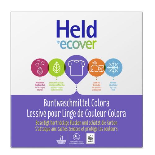 Lessive pour linge de couleur Colora